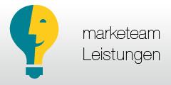marketeam Leistungen