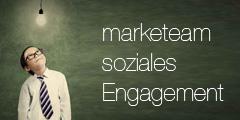 marketeam soziales Engagement